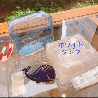 ジェラートピケ(gelato pique)の人気 完売 新作 ジェラートピケ ビニールポーチ(ポーチ)