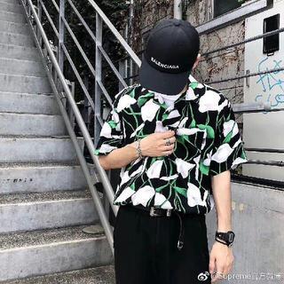 Supreme - 国内正規品 supreme Lily Rayon Shirt L