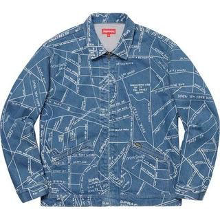 Supreme - 新品未開封【S・青】Gonz Map Work Jacket