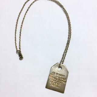 アッシュペーフランス(H.P.FRANCE)のチケットネックレス(ネックレス)