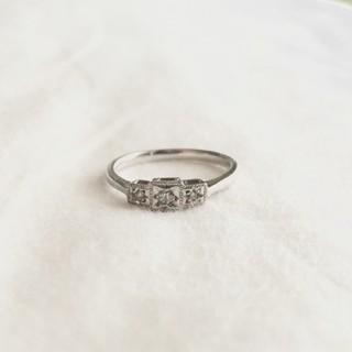 アガット(agete)のプラチナリング(リング(指輪))