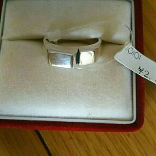 メンズ  シルバーリング  未使用  銀製品(リング(指輪))