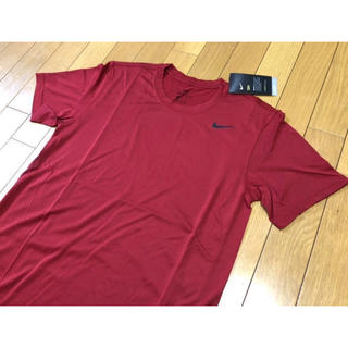 NIKE - 新品 NIKE メンズ トレーニング半袖TシャツMサイズ レッドナイキランニング