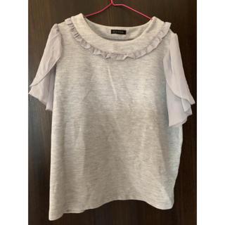 シマムラ(しまむら)のしまむら カットソー 半袖 Tシャツ 大きいサイズ(カットソー(半袖/袖なし))