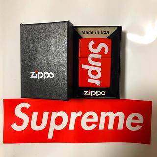 シュプリーム(Supreme)のsupreme 18SS zippo ジッポ ライター(タバコグッズ)
