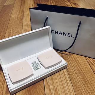 シャネル(CHANEL)のCHANEL N°5 サヴォン 75g×2コセット(ボディソープ / 石鹸)