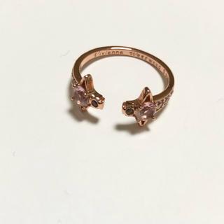 ヴィヴィアンウエストウッド(Vivienne Westwood)のプロフ様専用 ピンク シルバー(リング(指輪))