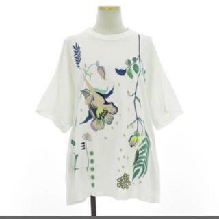 マメ(mame)のmame ボタニカル Tシャツ(Tシャツ(半袖/袖なし))