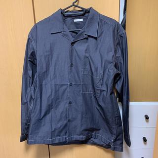 ジーユー(GU)の【格安】GU オープンカラーシャツ  ブラック(シャツ)