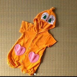 バンダイ(BANDAI)の80 ドキンちゃん アンパンマン ロンパース 半袖 コスプレ 誕生日(ロンパース)