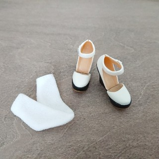 momoko デフォルト アウトフィット 靴 靴下