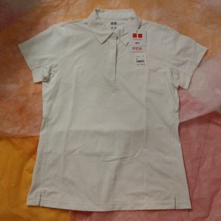 ユニクロ(UNIQLO)のUNIQLO メッシュ半袖ポロシャツ ドライ XLサイズ《新品》(ポロシャツ)