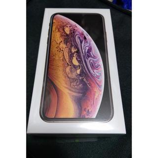 iPhone - 新品未使用 未開封 iphone xs 64g ゴールド SIMフリー