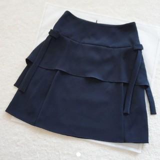 René - 極美品♡ルネ♡サイドリボンスカート