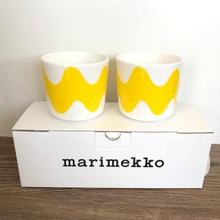 マリメッコ(marimekko)のマリメッコ  ラテマグ  セット ロッキ (グラス/カップ)