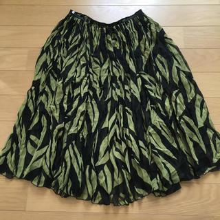 ツモリチサト(TSUMORI CHISATO)のツモリチサト★シルク100%スカ-ト(ロングスカート)