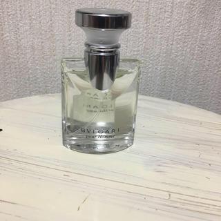 ブルガリ(BVLGARI)のブルガリプールオムオードトワレ30ml(香水(男性用))