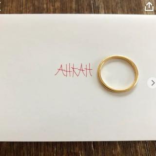 アーカー(AHKAH)のアーカーブラン メテオールリング(リング(指輪))