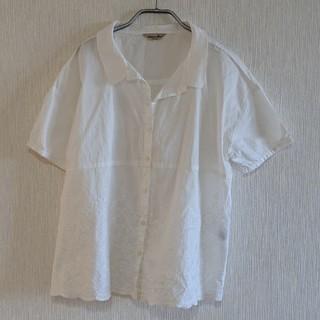 サマンサモスモス(SM2)のサマンサモスモス 刺繍 トップス(カットソー(半袖/袖なし))