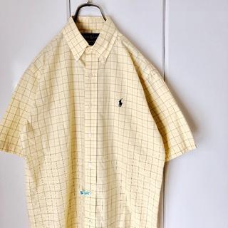 ラルフローレン(Ralph Lauren)の【クリーニング済】 ラルフローレン チェックシャツ 半袖シャツ ボタンダウン(シャツ)