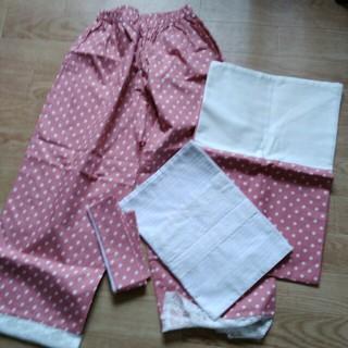 フェリシモ(FELISSIMO)のフェリシモの着物インナー ステテコ、裾よけ、重ね襟、帯揚げ  新品未使用(和装小物)