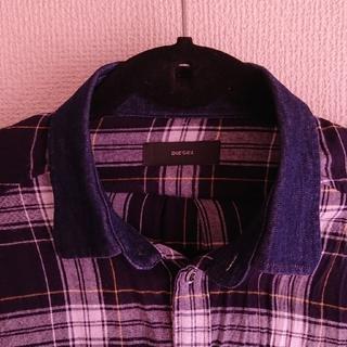 DIESEL - ディーゼルチェックシャツ★春夏用に★