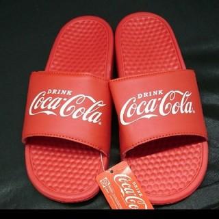 コカコーラ(コカ・コーラ)の新品♡コカ・コーラ シャワーサンダル XL(サンダル)