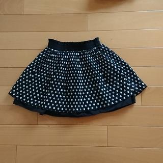ジーユー(GU)のGU プリーツスカート 110㎝(スカート)