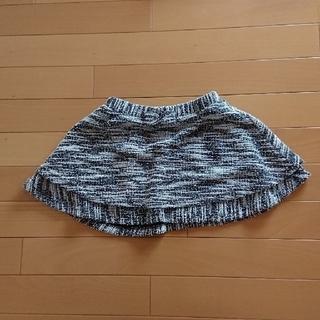 ジーユー(GU)のGU ウエストリボンスカート 110㎝(スカート)