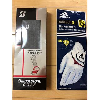 adidas - ゴルフ手袋、靴下セット