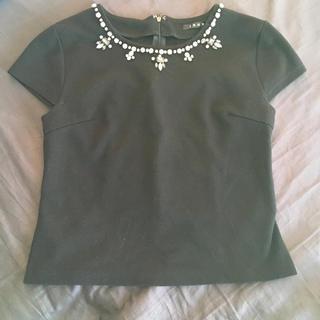 イング(INGNI)のINGNI ビジューTシャツ(Tシャツ(長袖/七分))