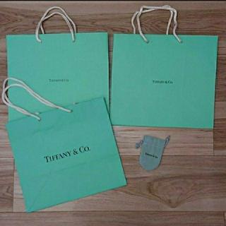 ティファニー(Tiffany & Co.)のティファニー  ショップ袋&アクセサリー袋(ショップ袋)