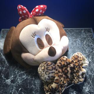 ミニーマウス - ミニーマウス 被り物と帽子セット
