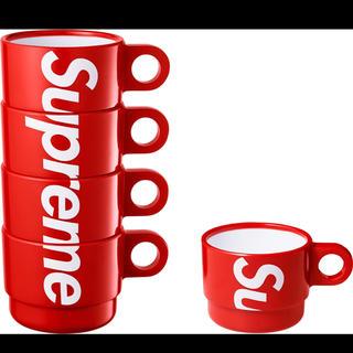 シュプリーム(Supreme)の18ss Supreme Stacking Cups Set of 4(グラス/カップ)