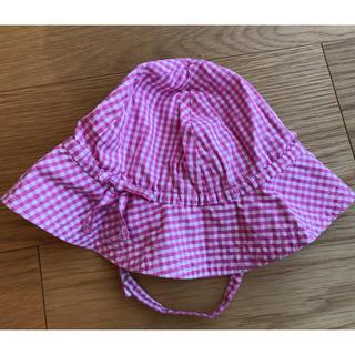 ベビーギャップ(babyGAP)のbaby GAP 帽子 ギンガムチェック(帽子)