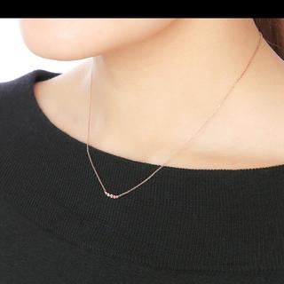 ブルーム(BLOOM)の ブルーム ピンクゴールドメッキ トパーズ ネックレス (ネックレス)