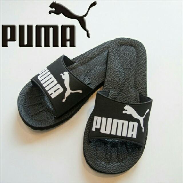 PUMA(プーマ)の新品 プーマ デザイン サンダル ブラック 28センチ 送料無料 黒 PUMA メンズの靴/シューズ(サンダル)の商品写真
