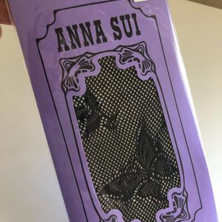 アナスイ(ANNA SUI)の新品未使用ANNA SUI網タイツ ブラック 22cm〜25cm(タイツ/ストッキング)