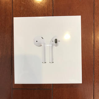 Apple - 【新品未使用】AirPods/第2世代【アップル純正ワイヤレスイヤホン】即日発送