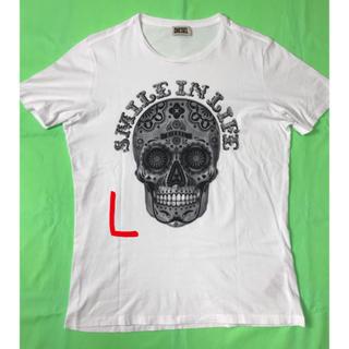 DIESEL - 男性 L位《DIESEL》(スカル)Tシャツ