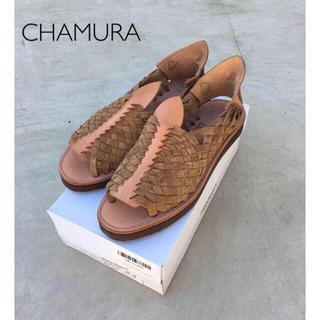 【CHAMURA】チャムラ Chapala(新品)(サンダル)