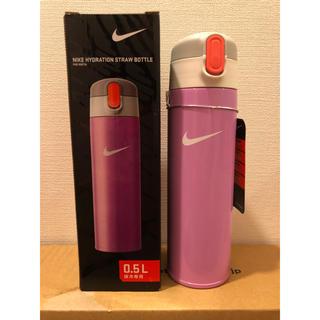 ナイキ(NIKE)の新品未使用 サーモス ステンレス水筒 ストローマグ NIKE ピンク(マグカップ)