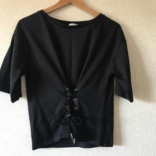 GU - GU 黒Tシャツ