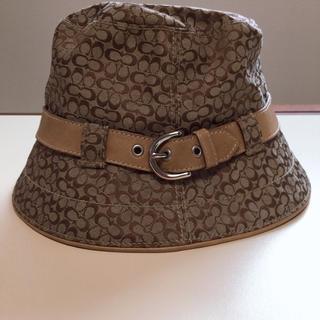 コーチ(COACH)のコーチ(COACH)帽子(ハット)