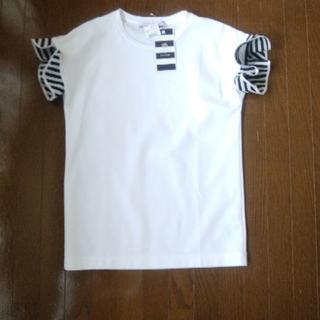 ドゥロワー(Drawer)の今季ボーダーズアットバルコニー  Tシャツ borders at balcony(Tシャツ(半袖/袖なし))