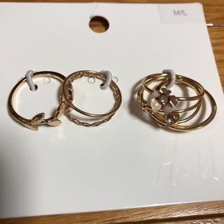 エイチアンドエム(H&M)の7種類 リング•指輪セット(リング(指輪))