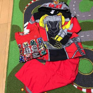 バンダイ(BANDAI)の仮面ライダー 返信パジャマ、Tシャツ120.130(パジャマ)