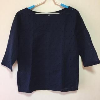 ユニクロ(UNIQLO)のユニクロ 7分袖 Tシャツ XL(Tシャツ(長袖/七分))