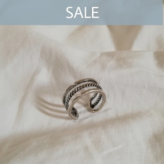 BEAUTY&YOUTH UNITED ARROWS - 【 数量限定SALE 】silver 925 triple ring *