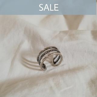 ビューティアンドユースユナイテッドアローズ(BEAUTY&YOUTH UNITED ARROWS)の【 数量限定SALE 】silver 925 triple ring *(リング(指輪))